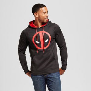 NEW! Marvel Deadpool Black Hoodie - SUPER SOFT